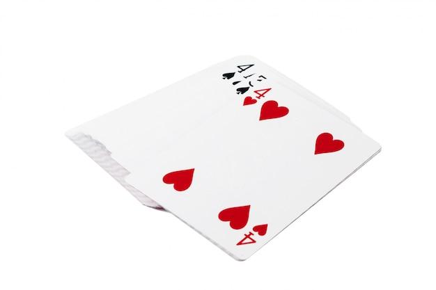 Kartenspielen Premium Fotos