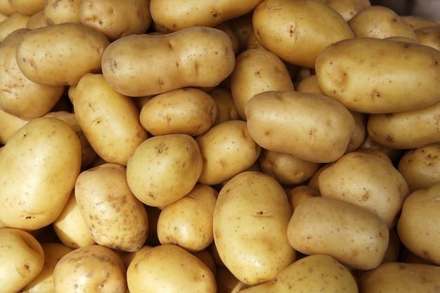 Kartoffeln roh Premium Fotos