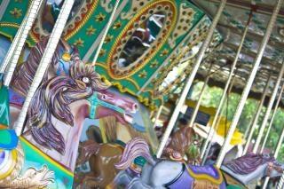 Karussell themenpark, gelage Kostenlose Fotos