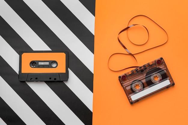 Kassetten mit magnetischem aufnahmefilm Kostenlose Fotos