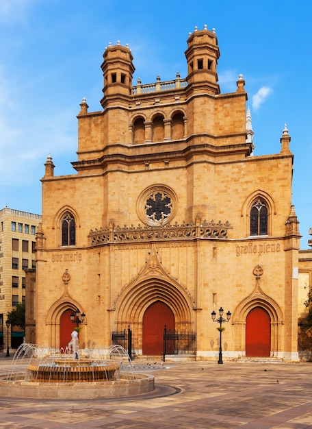 Kathedrale der heiligen maria. castellón de la plana Kostenlose Fotos