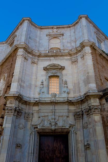 Kathedrale von cadiz, spanien Premium Fotos