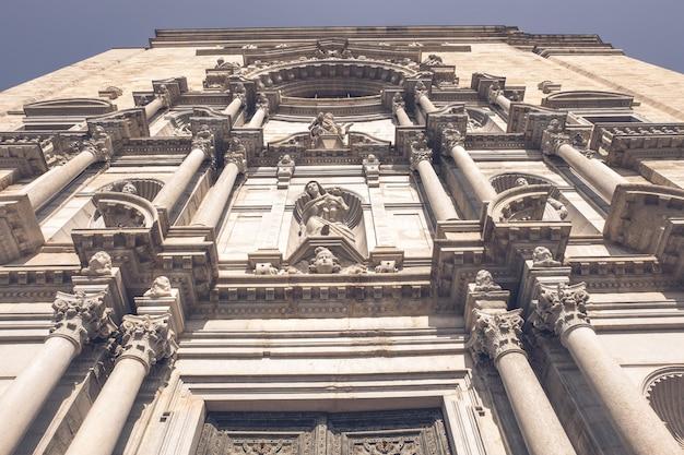 Kathedrale von girona Premium Fotos