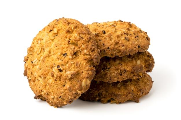 Kekse auf weiß Premium Fotos