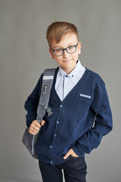 Kind schüler in der klasse Premium Fotos