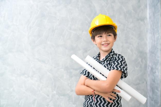 Kinderingenieur Premium Fotos