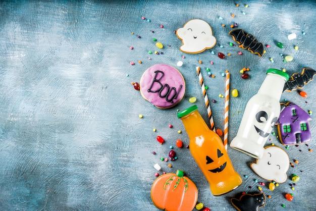 Kinderleckerbissen für halloween Premium Fotos