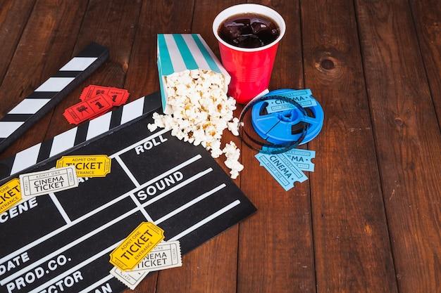 Kino essen und tickets Kostenlose Fotos