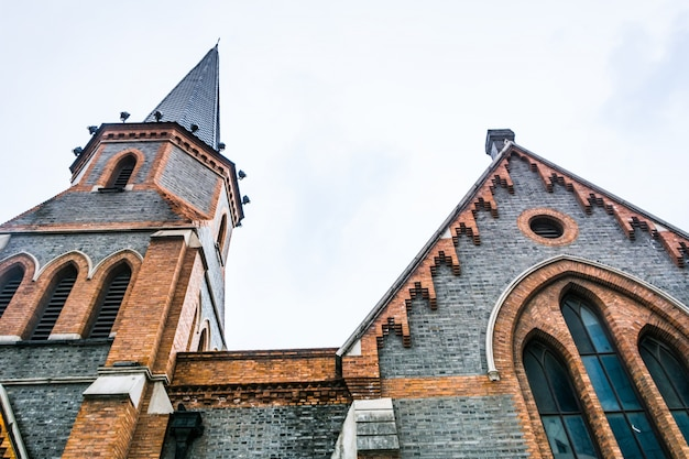 Kirche außenansicht Kostenlose Fotos