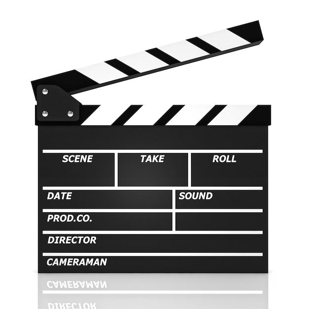 Klassische filmklappe Premium Fotos
