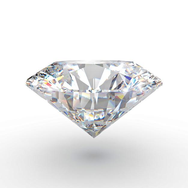 Klassischer diamant 3d Premium Fotos