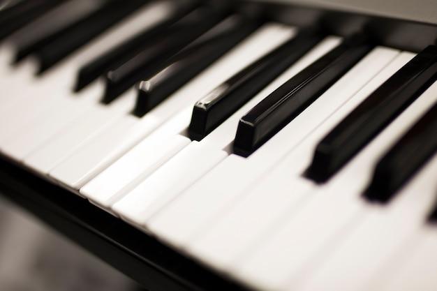 Klaviertastatur Premium Fotos