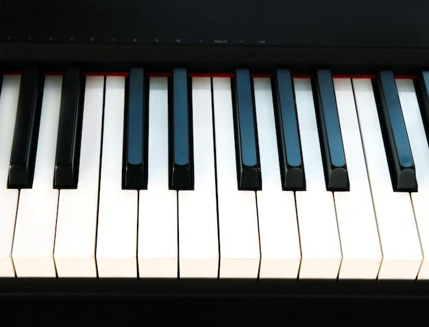 Klaviertaste hintergrund Premium Fotos