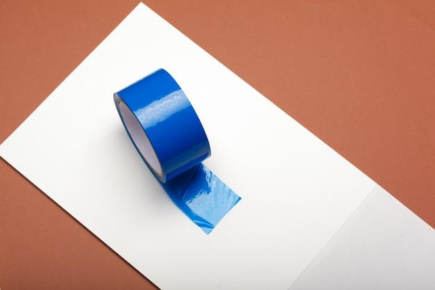 Klebeband auf papier Premium Fotos