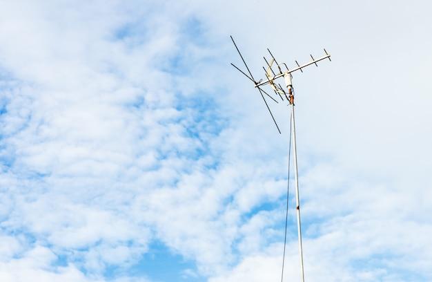 Kleine antenne Premium Fotos