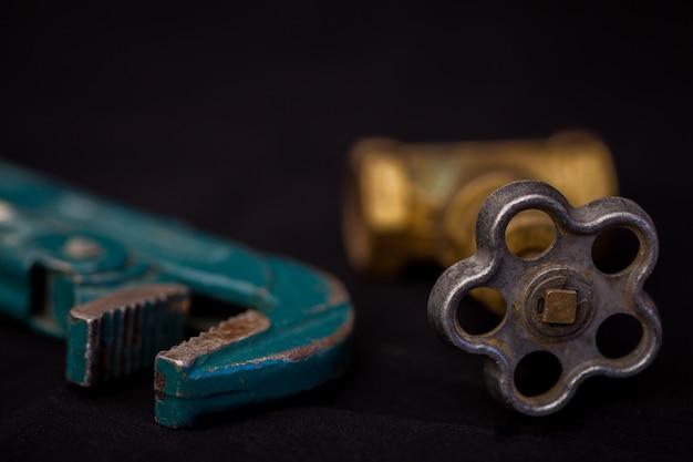 Klempnerwerkzeuge Premium Fotos