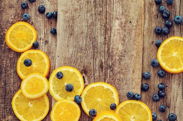 Köstlicher orange hintergrund Kostenlose Fotos