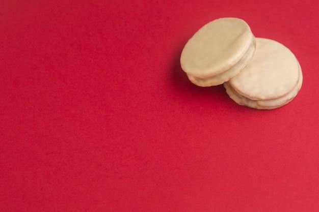 Köstliches alfajores-konzept mit kopierraum Kostenlose Fotos