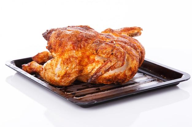 Köstliches huhn auf dem tisch Kostenlose Fotos