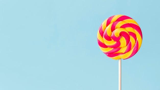 Köstliches süßigkeitenkonzept mit kopierraum Premium Fotos