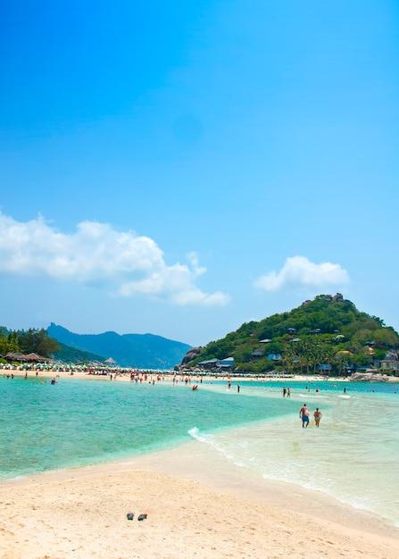 Koh nangyuan, surat thani, thailand. koh nangyuan ist einer der schönsten strände thailands. Kostenlose Fotos