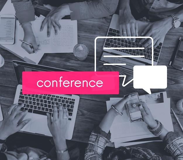 Konferenz zum austausch von konferenzgesprächen Kostenlose Fotos