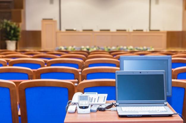 Konferenzsaal Premium Fotos