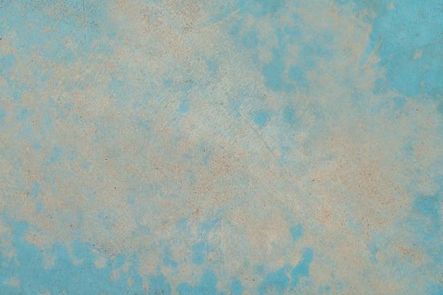Konkrete blaue wandbeschaffenheit und mit kopienraum Premium Fotos