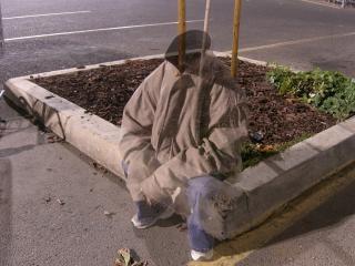 Kopflosen, obdachlose gespenst Kostenlose Fotos