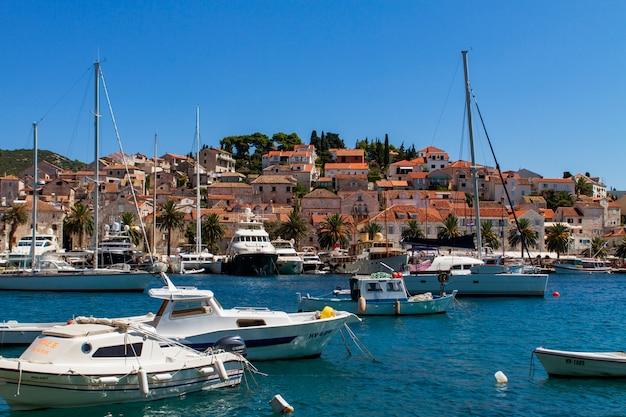 Korcula, kroatien Premium Fotos