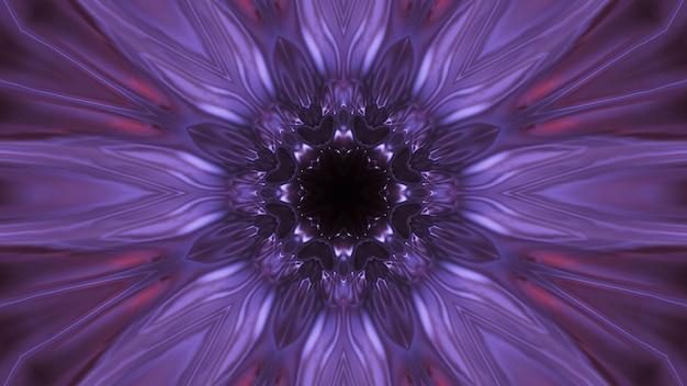 Kosmischer raum mit lila laserlichtern - perfekt für eine digitale tapete Kostenlose Fotos