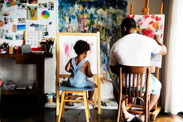 Künstlerfamilie Kostenlose Fotos