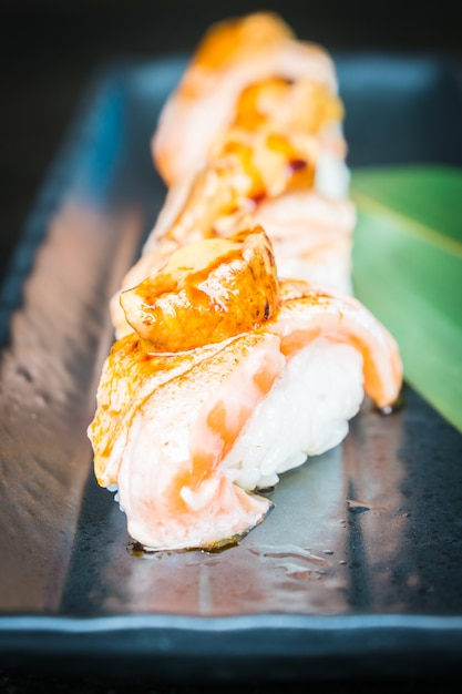 Lachs-Sushi Kostenlose Fotos