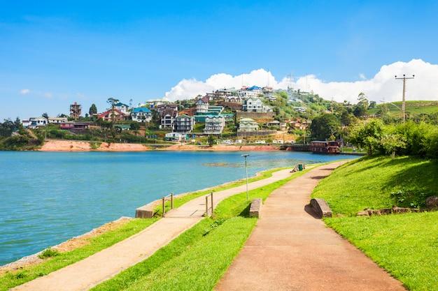 Lake gregory, nuwara eliya Premium Fotos