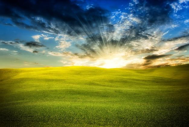 Landschaft Premium Fotos
