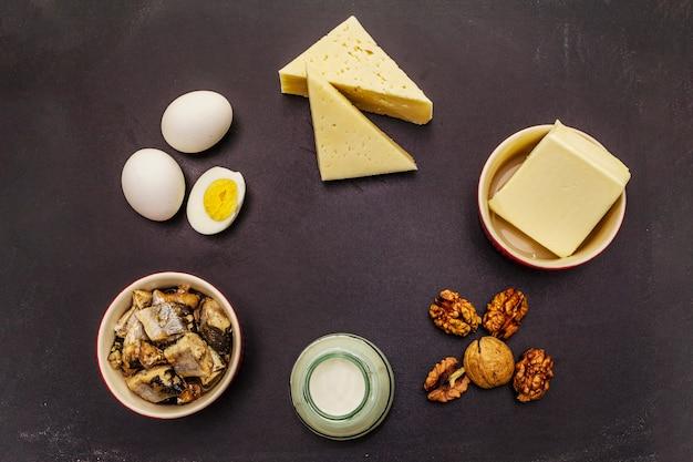 Eier Vitamin D