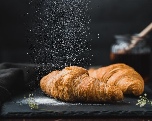 Leckere französische croissants Kostenlose Fotos