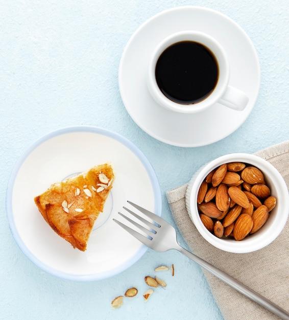 Leckere herbstpastete und kaffee Kostenlose Fotos