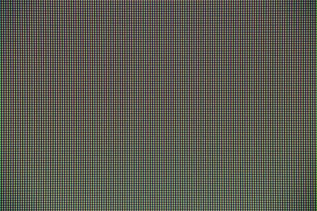 Led-leuchten vom computerbildschirm-anzeigefeld für grafikdesign. Premium Fotos