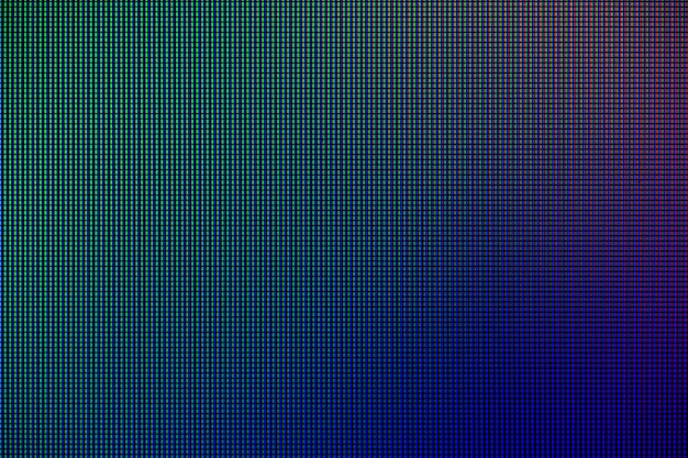 Led leuchtet vom computerbildschirm Premium Fotos