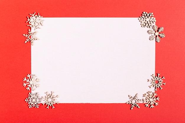 Leere karte mit schönen dekorationen Kostenlose Fotos