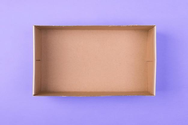 Leere pappschachtel Premium Fotos
