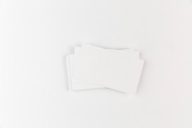Leere visitenkarte verspotten Kostenlose Fotos