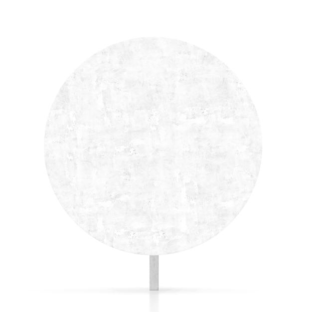 Leere weiße verkehrszeichen Kostenlose Fotos