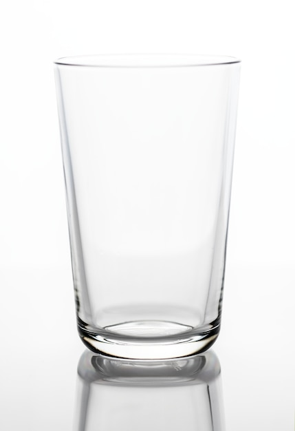 Leerer trinkglasmakroschuß Kostenlose Fotos