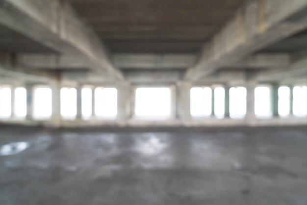 Leeres verlassenes gebäude für hintergrund Premium Fotos