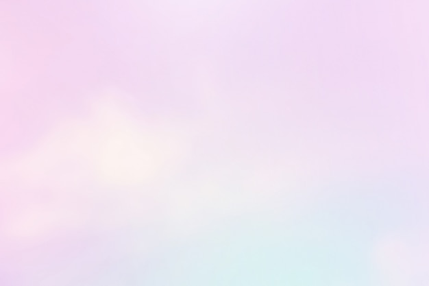 Leicht bewölkt mit violettem farbverlauf Premium Fotos