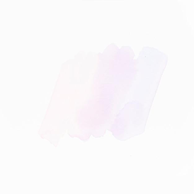 Leichte flüssige farbe striche isoliert auf weiße fläche Kostenlose Fotos