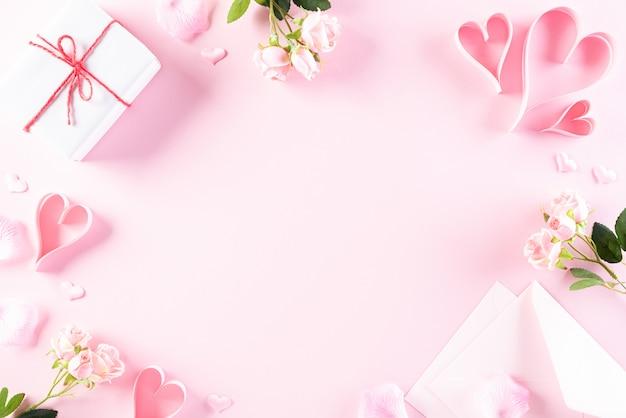 Liebes- und valentinstagskonzept. Premium Fotos
