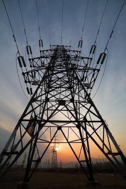 Light tower vorderansicht Kostenlose Fotos